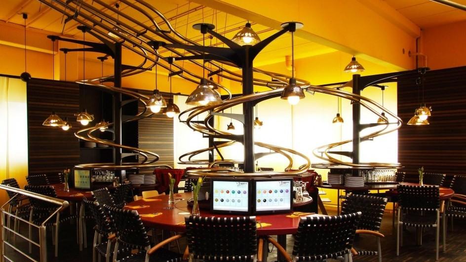 Самые необычные рестораны робот