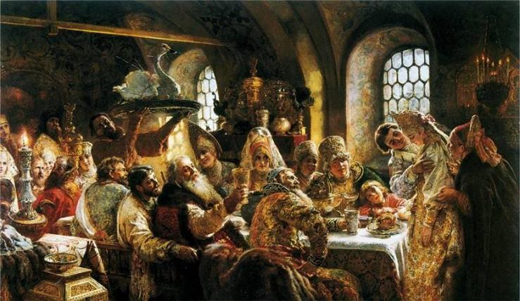 Взгляд 4Банкет на русскую кухню и застольные русские обычаи1