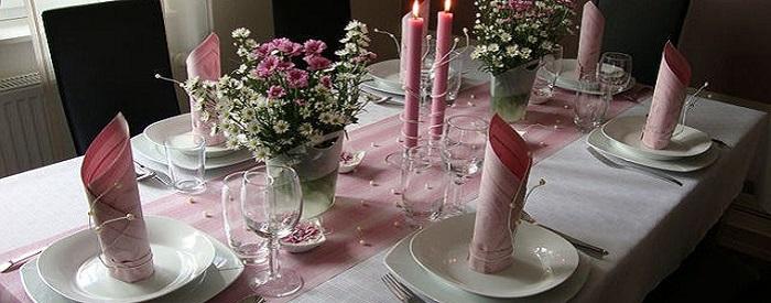 Сервировка домашнего праздничного стола. Модные посудные тенденции1