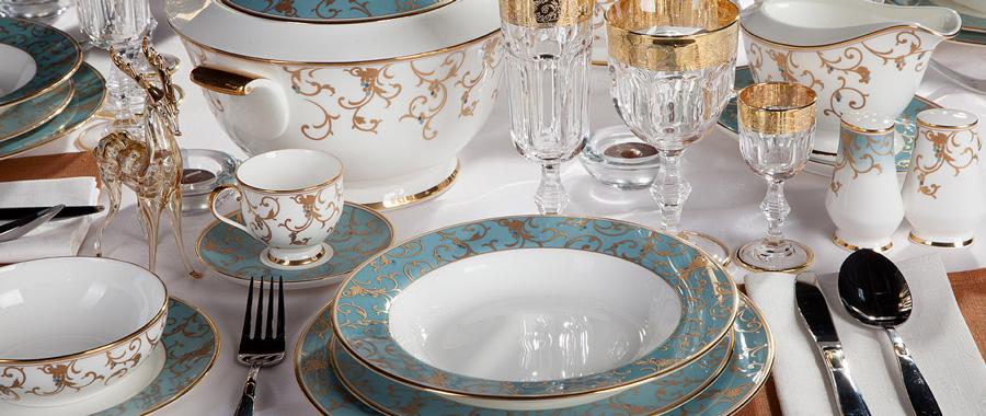 Сервировка домашнего праздничного стола. Модные посудные тенденции3