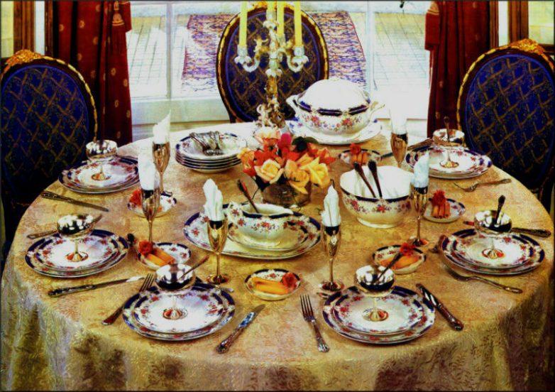 Званый обед или ужин по всем правилам секреты подготовки2