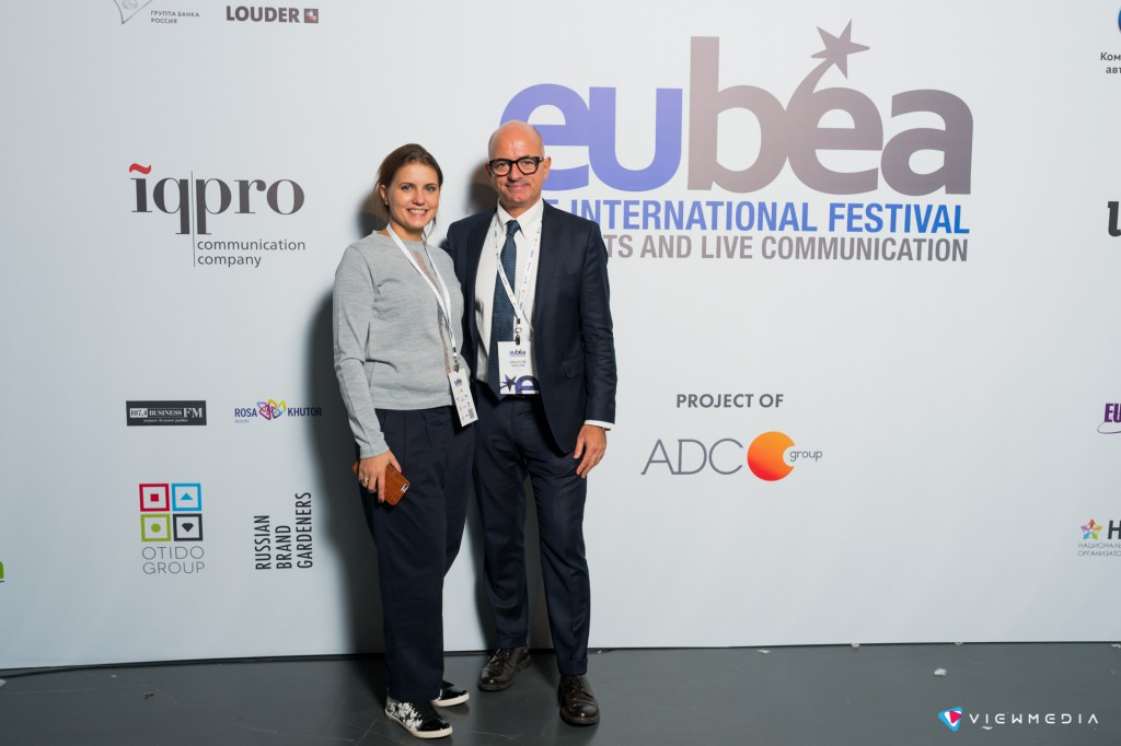 Надежда Макова и Сальваторе Сагоне, главные продюсеры международного фестиваля EuBea 2016